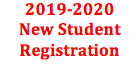 2019-2020 New Student Registration
