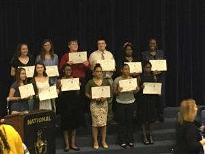 GCHS BETA Club Inductees