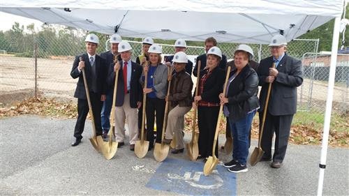 CMS Ground Breaking