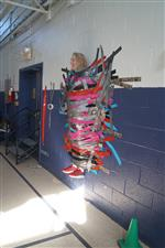 Buxton Taped By Students for Special Olympics